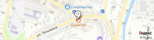 Vendetta на карте Кисловодска