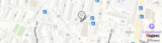 Росгосстрах-банк на карте Кисловодска