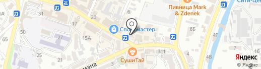 AMN на карте Кисловодска