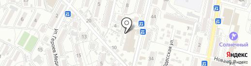 Росгосстрах банк, ПАО на карте Кисловодска