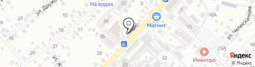 X-master на карте Кисловодска