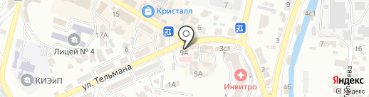 Дезинфекция-Профессионал на карте Кисловодска