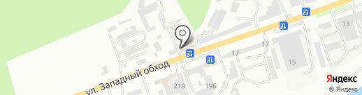 Столовая №1 на карте Кисловодска