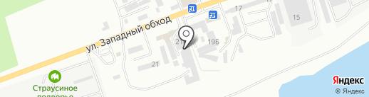Торгово-монтажная компания на карте Кисловодска