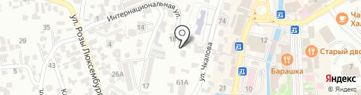 Детская художественная школа им. Н.А. Ярошенко на карте Кисловодска