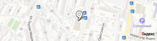 Управление Пенсионного фонда РФ по г. Кисловодску на карте Кисловодска