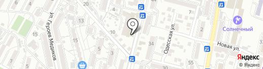 ПАРИТЕТ на карте Кисловодска