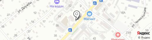 Иноземцевские колбасы и полуфабрикаты на карте Кисловодска
