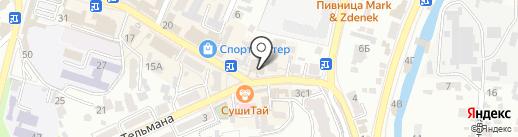 Ван-Пицца на карте Кисловодска