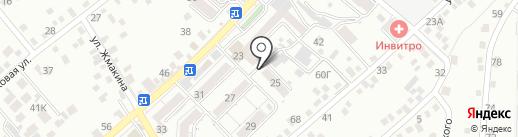 Ветеринарная клиника на карте Кисловодска
