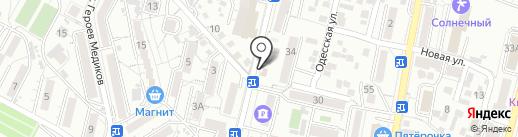 Планета на карте Кисловодска