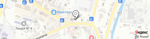 Мастер-МОБАЙЛ на карте Кисловодска
