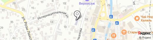 Средняя общеобразовательная школа №14 на карте Кисловодска