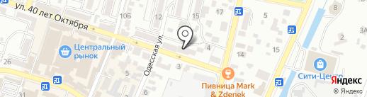 Центр правовой поддержки на карте Кисловодска