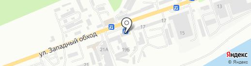 ВИД на карте Кисловодска