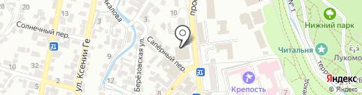 Гастроном на карте Кисловодска
