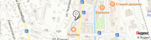 BEST-ТУР на карте Кисловодска