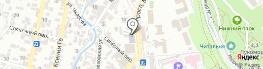 Центр творческого развития и гуманитарного образования на карте Кисловодска
