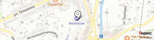 СДЭК на карте Кисловодска