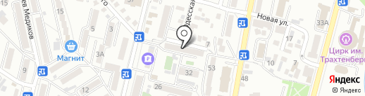 Клуб-Студия Натальи Кутявиной на карте Кисловодска