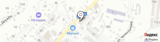 Ле`муррр на карте Кисловодска