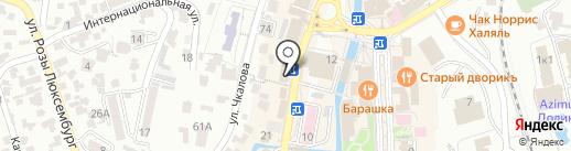 Магазин сумок на карте Кисловодска