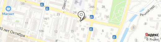 Тепло Строй на карте Кисловодска