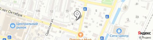 Фортуна на карте Кисловодска