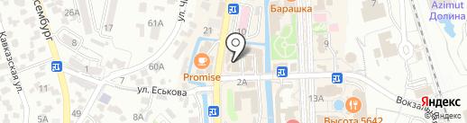 Comilfo на карте Кисловодска
