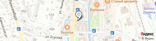 Дарить цветы на карте Кисловодска