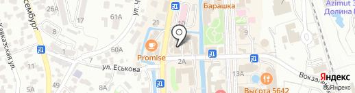 Profi Style на карте Кисловодска