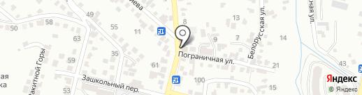 Торгово-ремонтная компания на карте Кисловодска