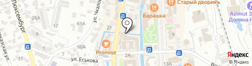 1000 мелочей на карте Кисловодска