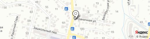 Белорусские кухни на карте Кисловодска
