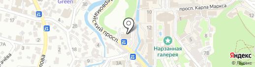 Банкомат, Росбанк на карте Кисловодска