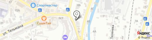 Wok Cafe ЛОТОС на карте Кисловодска