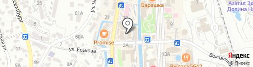 ПоzитиFF на карте Кисловодска