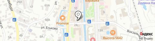Магазин одежды больших размеров на карте Кисловодска