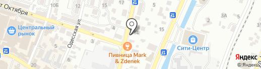 Ташкент на карте Кисловодска