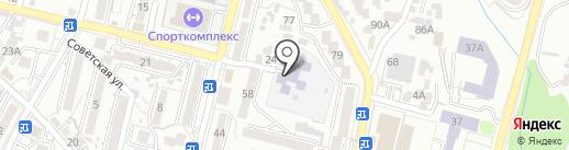 Начальная школа-детский сад №2 на карте Кисловодска