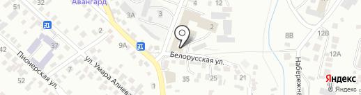 Мангуст на карте Кисловодска