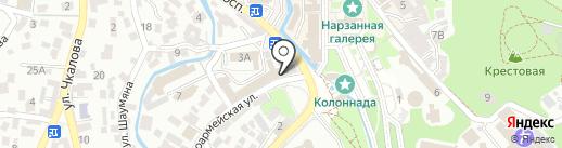 Центральная детская библиотека на карте Кисловодска