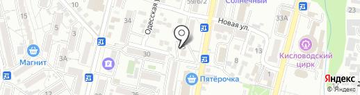 Управление городского хозяйства на карте Кисловодска