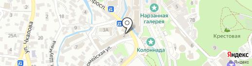Венские Вафли на карте Кисловодска