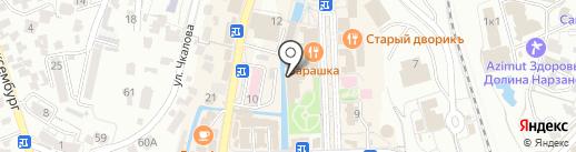 Ретро на карте Кисловодска