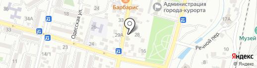 Оазис на карте Кисловодска