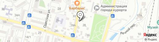 Шоколадные фонтаны на карте Кисловодска