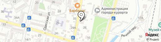 Оргсервис на карте Кисловодска
