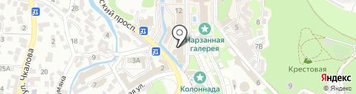 Европейская бижутерия на карте Кисловодска