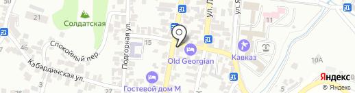 Наладчик на карте Кисловодска